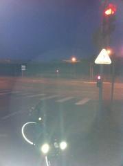 feu rouge, poitiers, vélo