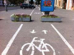 vilnius, pistes cyclables