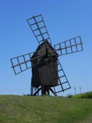 moulin, suède, oland