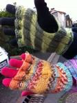 mitaines, gants, tricot
