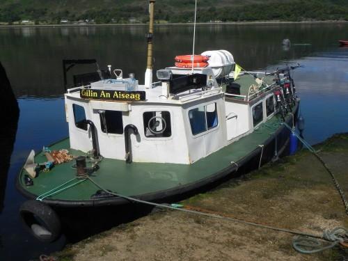 ecosse, velo, ferry