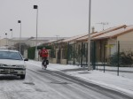 neige, vélo, poitiers