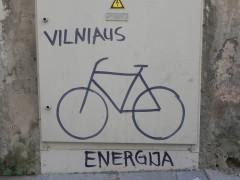 vilnius, vélo, énergie