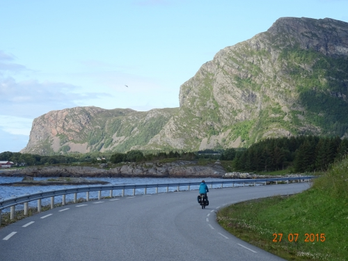 norvege, voyage, vélo