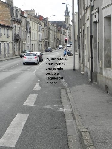 Piste cyclable, Poitiers (86)