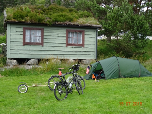 camping, norvege