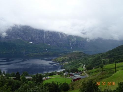 norvege ,voyage, velo fjords