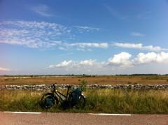suède, oland, vélo
