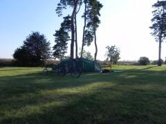 suède, vélo, cyclo, camping, oland